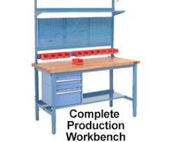 workbench with pegboard and light workbenches and tables industrial workbenches