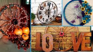 diy wagon bicycle wheel decor ideas re purposed project u0026 home