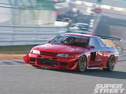 custom nissan skyline drift 1993 nissan skyline gt r bnr32 drag me to hell super street