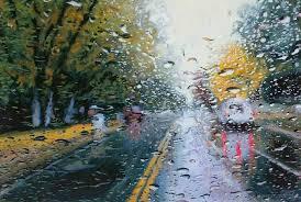 imagenes de paisajes lluviosos imágenes arte pinturas paisajes de ciudades con carros pinturas en