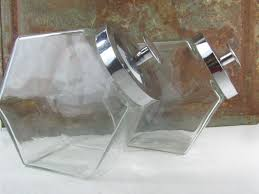 clear glass canisters for kitchen vintage clear glass canisters displayjar canister candy jar