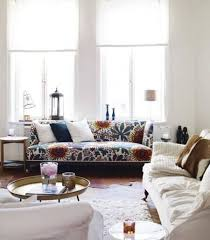 3 ways to make it work living with a bold patterned sofa