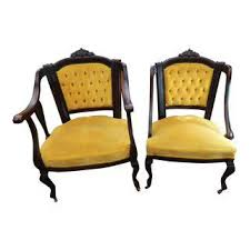 Victorian Armchairs Vintage U0026 Used Victorian Accent Chairs Chairish