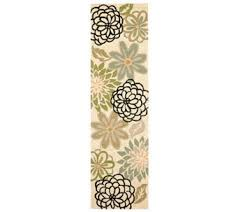 Qvc Outdoor Rugs Qvc Outdoor Rugs Barbara King Garden Peony 5x8 Reversible