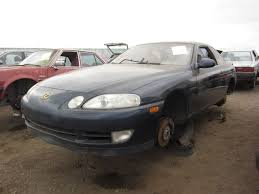 future cars brutish new lexus junkyard find 1994 lexus sc400 the truth about cars