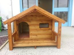 fine dog house with porch plans it has a removable wall not shown