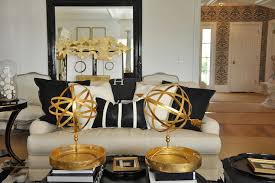 Cool Wonderful Living Rooms Black And Gold Room Remarkable Gold And Black Living Room Eclectic Megan Winters On