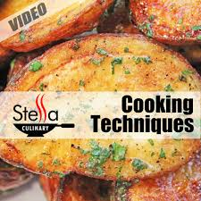 cooking techniques stella culinary