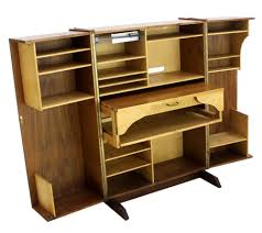 Foldable Computer Desk by Computer Armoire With Fold Down Table Photo Yvotube Com