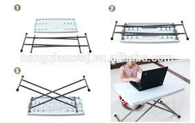 plastic folding tables adjustable height small folding writing table inch adjustable height folding study