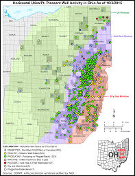 Coshocton Ohio Map by Information On The Utica Shale