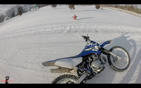 where can i ride my motocross bike riding my dirt bike in snow lots of fails youtube