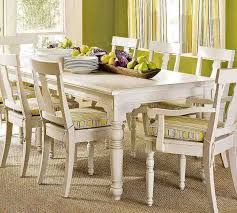 Best Better White Dining Chairs Images On Pinterest White - White and wood kitchen table