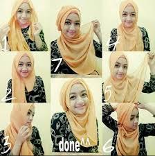 tutorial hijab segitiga paris simple 4 cara memakai hijab paris terbaru simpel modern elegan tutorial