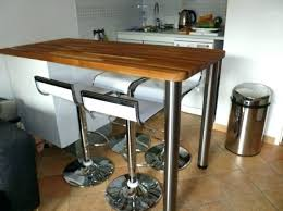 table de cuisine avec tiroir table haute rangement table bar cuisine table cuisine table bar