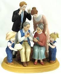 home interior porcelain figurines home interiors denim days 50th anniversary porcelain