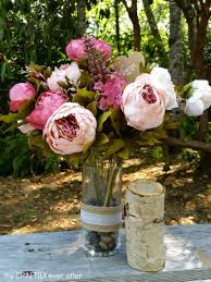 Rustic Center Pieces Rustic Centerpieces For A Party Or Wedding My Craftily Ever After
