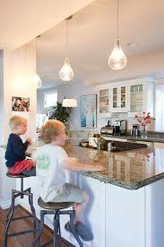 Traditional Kitchens With White Cabinets - los angeles starburst pendant light kitchen traditional with white