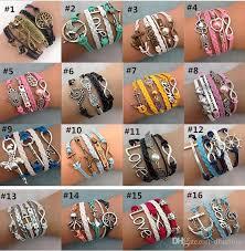 vintage infinity bracelet images Infinity bracelets fashion jewelry best friends leather infinity jpg
