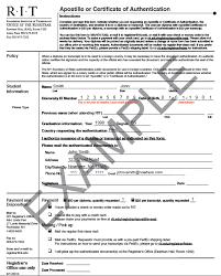 proof of enrollment sample