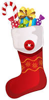 red christmas stocking with candy cane png clipart best web clipart