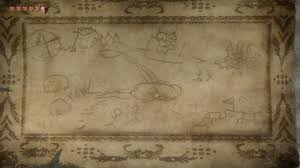 twilight princess map crude map in kakariko twilight princess hd truezelda
