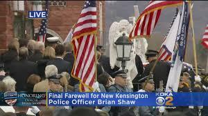 Fallen Officer Flag Fallen New Kensington Police Officer U0027s Casket Arrives At Church