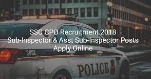 cat orie si e auto b ssc cpo recruitment 2018 apply 1223 si asi posts cracku