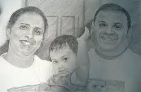 pencil drawing artist portraits hyper realism dubai