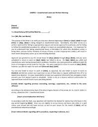 Certified Mail Letter Template 9 Writing Official Warning Letters Free Samples Examples Formats