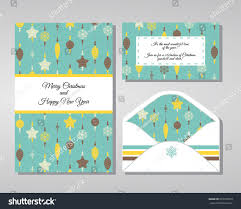 invitation christmas party decorated christmas decorations stock