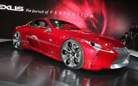 lexus lf lc vision gt lexus lf lc concept 2012 detroit auto show motor trend