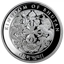 2017 kingdom of bhutan 1 oz silver lunar happiest rooster proof