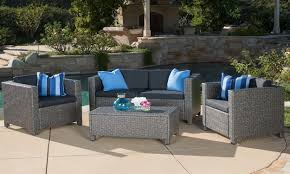 Remove Rust From Outdoor Furniture by How To Choose The Best Metal Patio Set Overstock Com