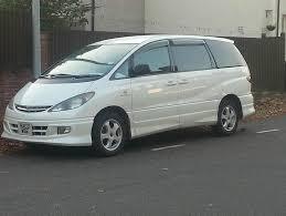 toyota previa estima aeras 2 4 petrol white 2003 8 seater 5 door