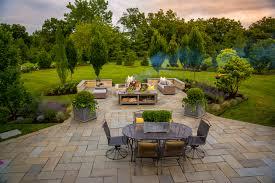 bluestone patio design u0026 installation barn nursery u0026 landscape