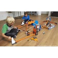 wheels world play table buy wheels track builder stunt box multi color online at low