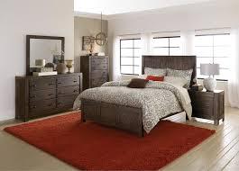 Bedroom Set Design Furniture Homelegance Farrin Panel Bedroom Set Dark Rustic Pine B1924 1