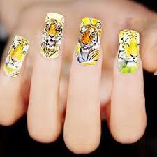 tiger nail art images nail art designs