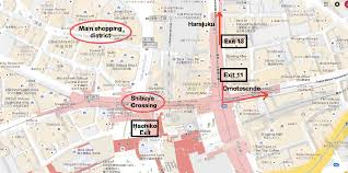 Tokyo Station Floor Plan by Shibuya Station Travel Guide Compathy Magazine