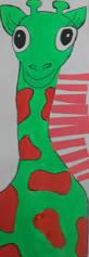 art eat tie dye repeat 2nd grade complementary color giraffes