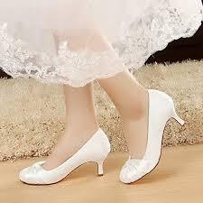 Wedding Shoes Small Heel Yooziri Wedding Shoes Bridal Shoes Women Shoes White Lace Shoes