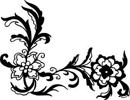 corner pattern png 16 flower corner vector png transparent svg vol 2 onlygfx com
