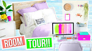 room tour 2016 room decor organization ideas alisha marie