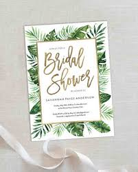 despedida invitation bridal shower martha stewart weddings