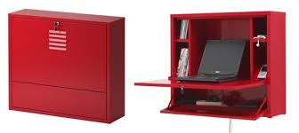 meuble bureau fermé avec tablette rabattable lordinateur bien dans ses meubles meuble bureau fermé avec tablette
