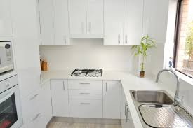 White Laminate Kitchen Cabinets Practical Laminate Kitchens Cdk