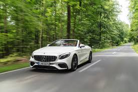 2018 mercedes benz s class coupe cabriolet get refreshed with new