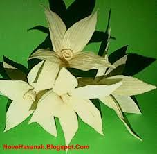cara membuat kerajinan tangan dari janur cara membuat bunga dari kulit jagung cempaka