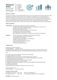Accounting Manager Resume Examples by Account Manager Resumes Sample Account Manager Resume Sample